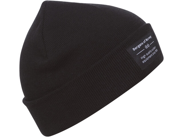 Bergans Fine Knit Beanie black